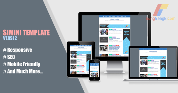 Simini Versi 2: Responsive, High CTR, Mobile Friendly Blogger Template