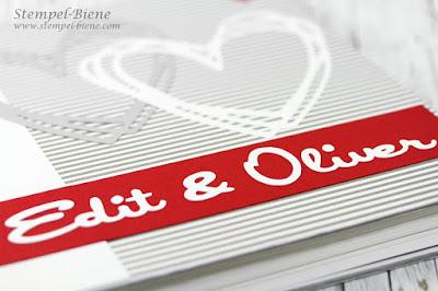 Gästebuch Hochzeit; Hochzeitsalbum basteln; Hochzeitsbuch Anleitung; Stempel-biene; stampinup Ruhrgebiet; Hochzeitsworkshop; Hochzeitsplanung