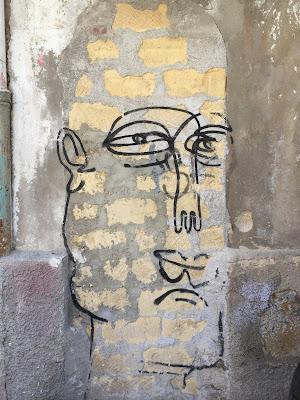 Palmero street art: face