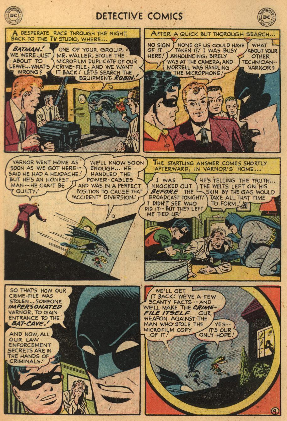 Read online Detective Comics (1937) comic -  Issue #229 - 6