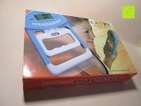 Verpackung: Camry Digitaler Hand-Kraftmesser / Dynamometer, zum Trainieren der Hände, 90 kg / 200 lb