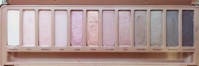 Urban Decay 3 Naked Eyeshadow palette