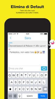 Snapchat, l'app si aggiorna alla vers 9.25.0.0