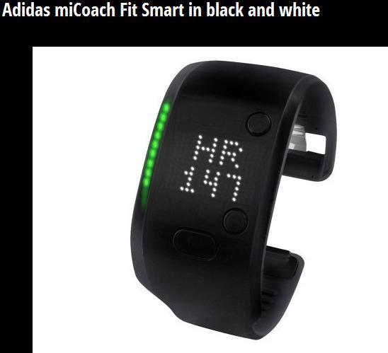 Adidas MiCoach Fit Smart Perangkat Pertama yang Gunakan Google Fit