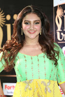 Sridevi Telugu Actressi in green Yellow Anarkali Dress at IIFA Utsavam Awards 023.JPG