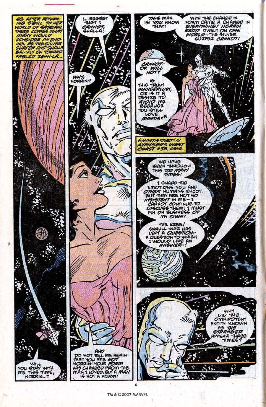Read online Silver Surfer (1987) comic -  Issue #31 - 6