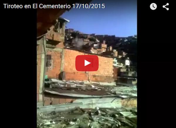 El Video del tiroteo en El Cementerio