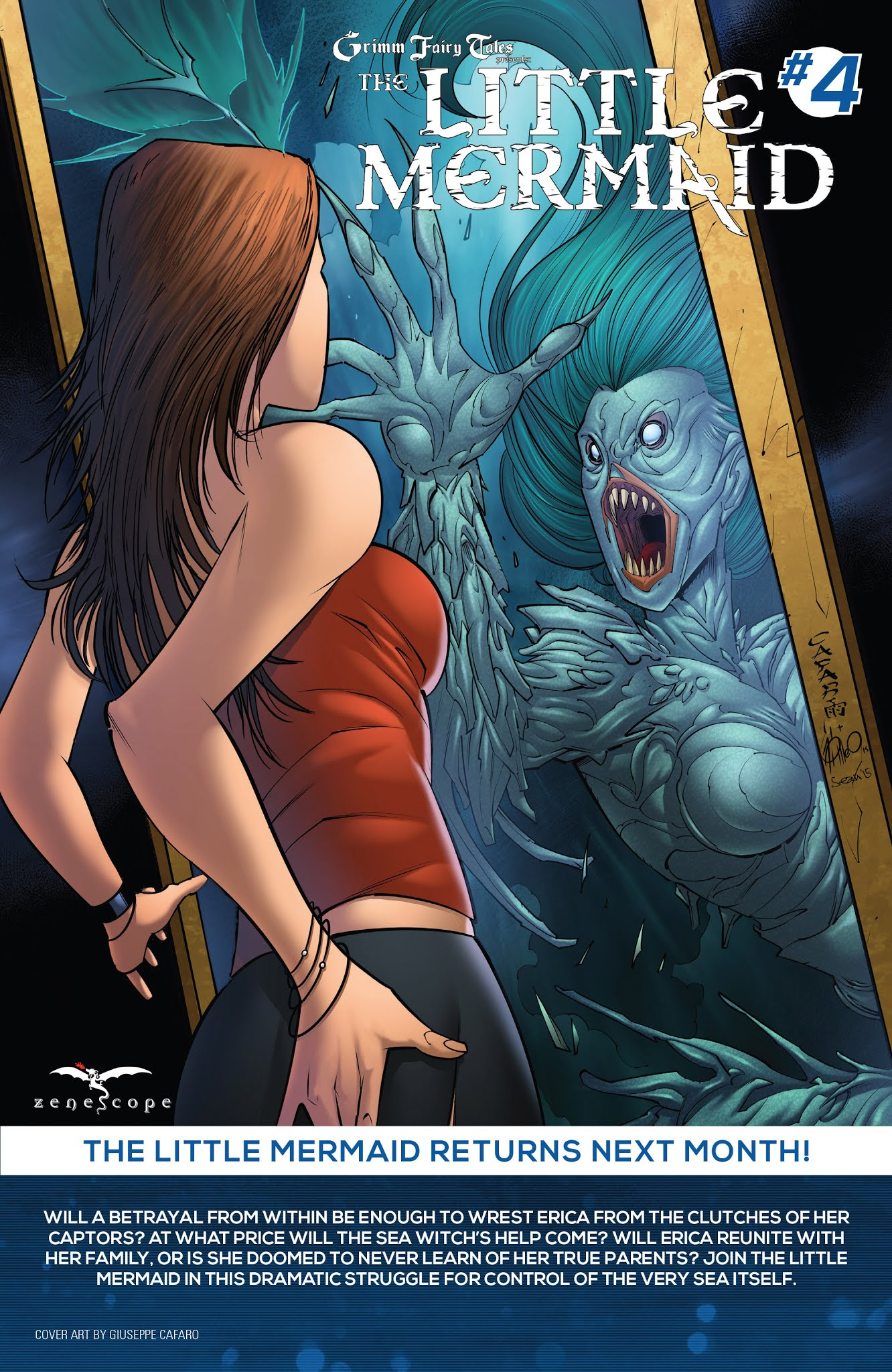 Grimm Fairy Tales presents The Little Mermaid 3 Page 25