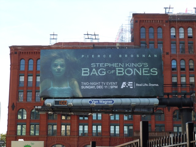 Bag of Bones billboard NYC