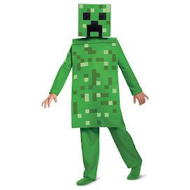 Minecraft Disguise Creeper Jumpsuit Costume Gadget
