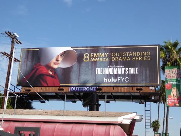 Handmaids Tale Golden Globes FYC billboard