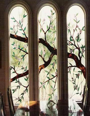 Home Improvement Products & Guide: Windows Glass Painting