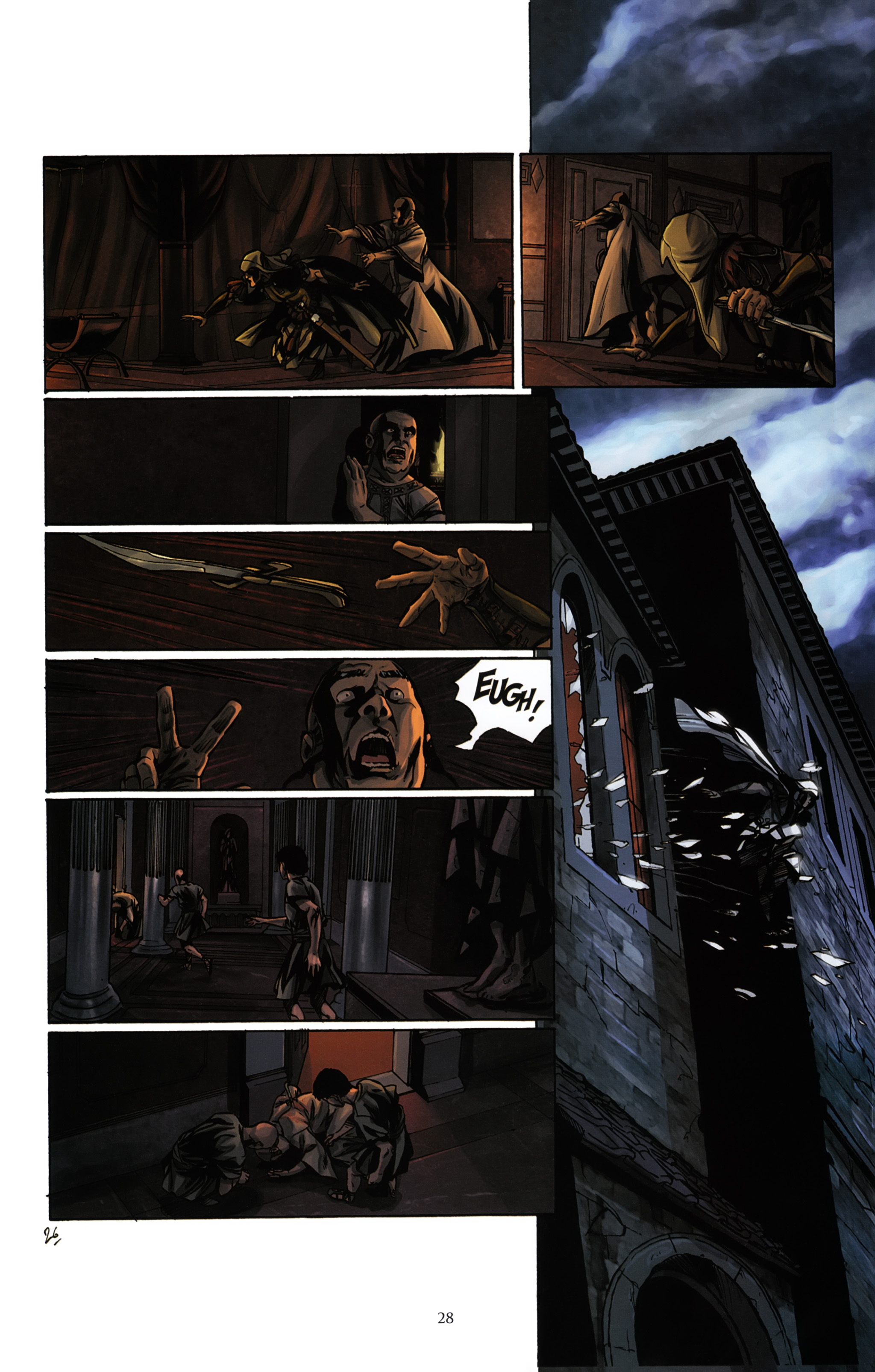 Read online Assassin's Creed (2012) comic -  Issue #2 - 32