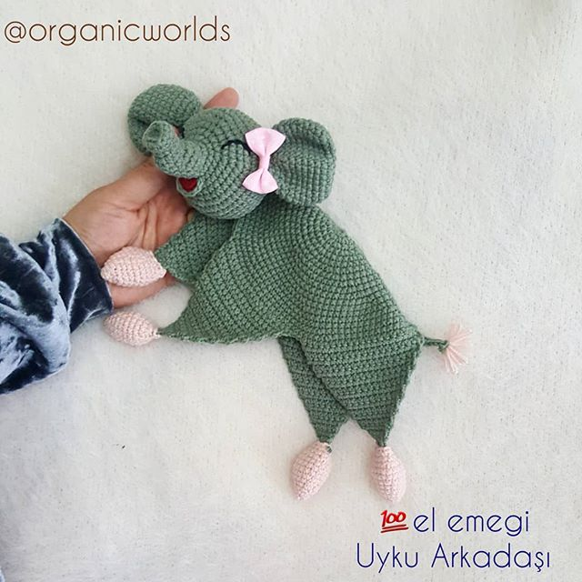 Make this adorable elephant amigurumi with Vanna's Choice! Free ... | 640x640