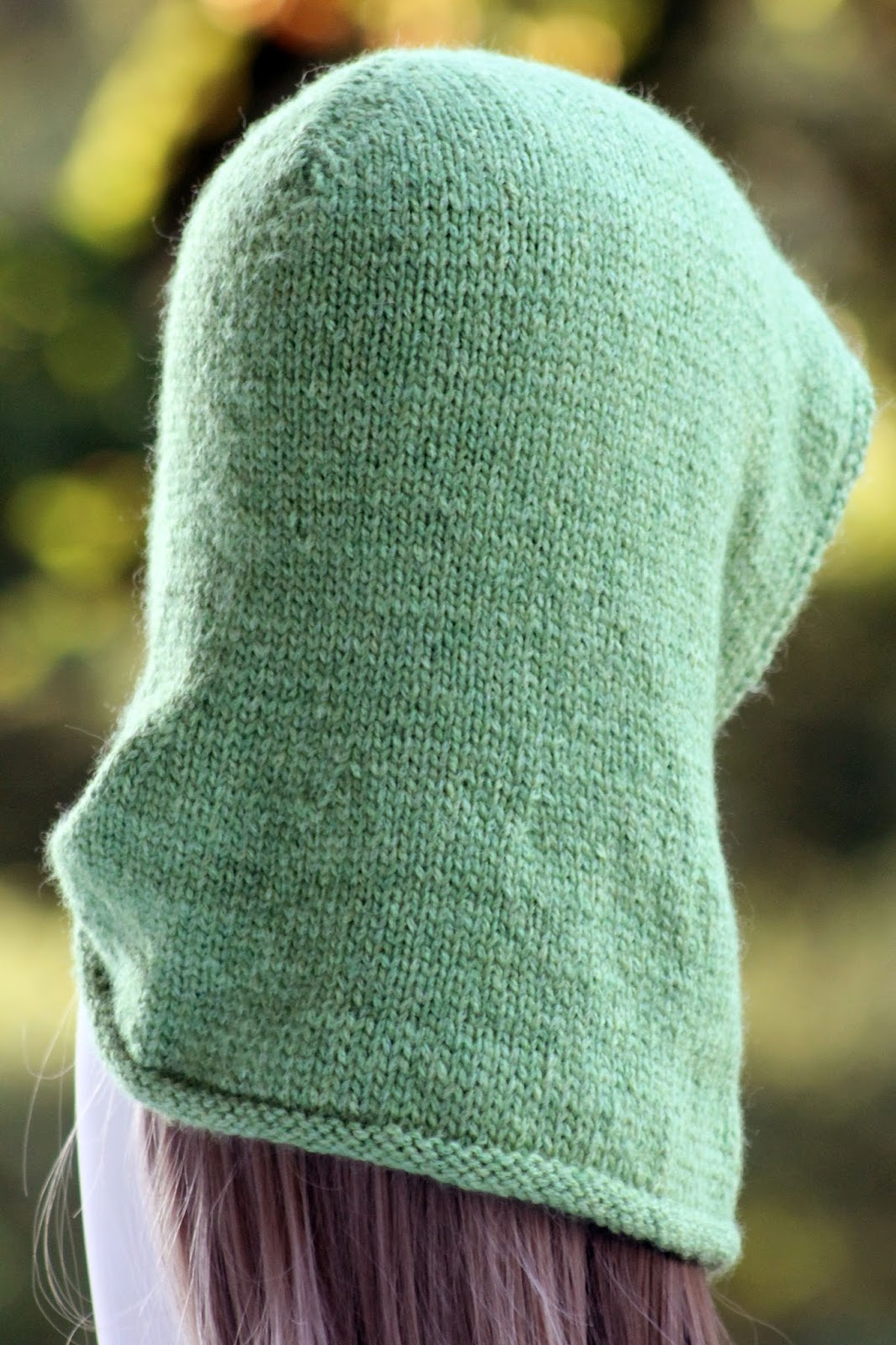 Balls to the Walls Knits: Friend of the Forest Hood
