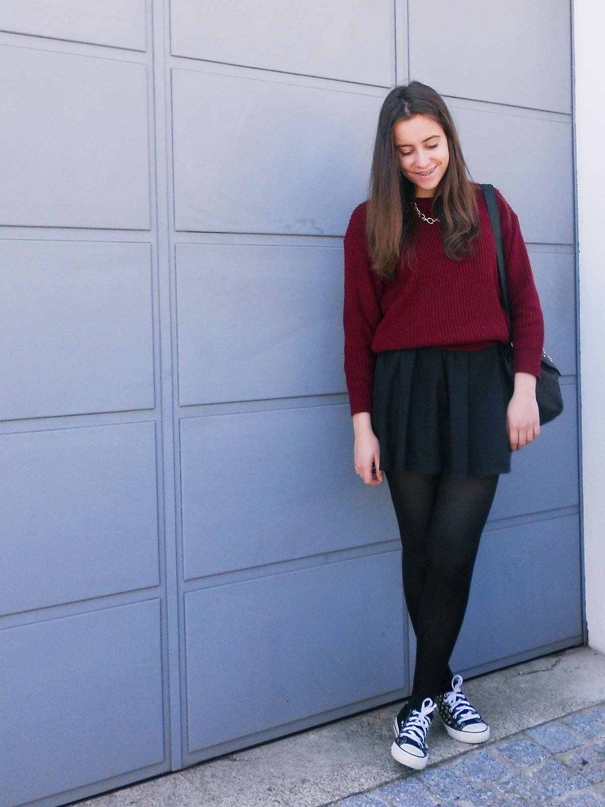 outfit | sweater from Sammydress