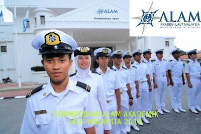 Permohonan ALAM Akademi Laut Malaysia 2018 Online