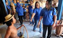 Kunjungi Pengrajin Anyaman Bambu dan Pengrajin Anyaman Rotan