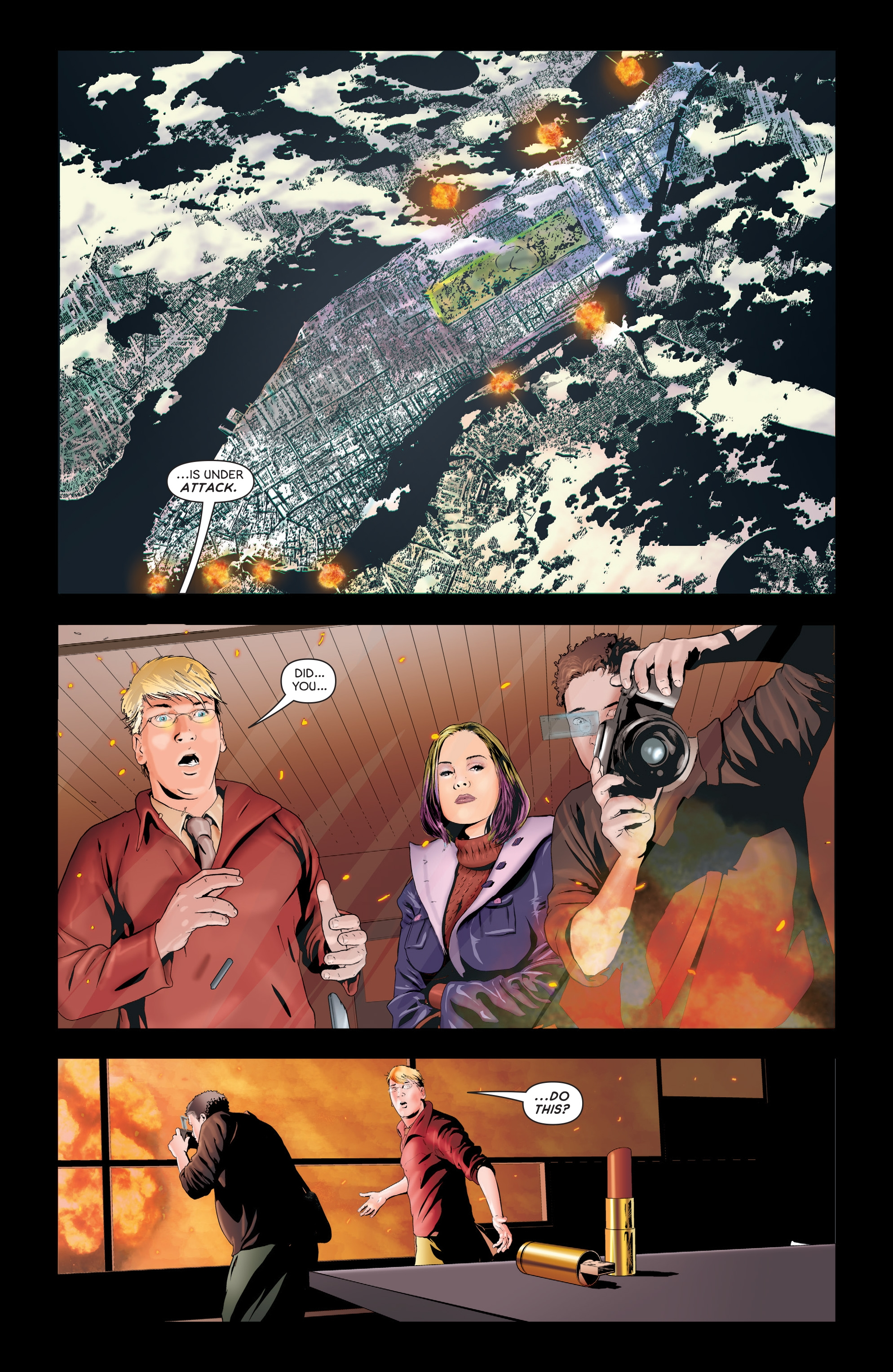 Read online Failsafe comic -  Issue #3 - 7
