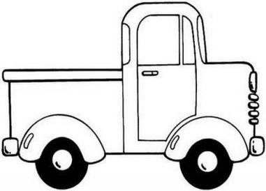 Atividades carro moto caminh o nibus 55 desenhos - Dessin de voiture simple ...