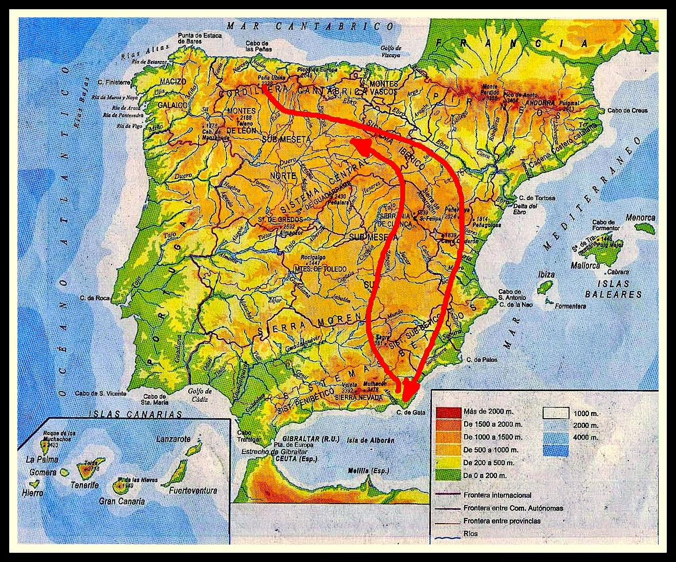 Trastero del viajero Cap1 AsturiasCabo GataAsturias 4100 km