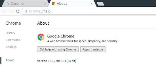 Install latest stable google chrome browser on Ubuntu 16.04 (Xenial Xerus)