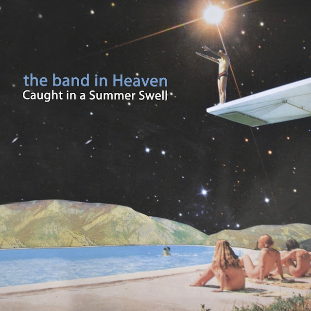 "Music Teleivison presents ""the band in Heaven"" and the music video directed by Alice Cohen for their song titled Music Television, from their album titled Caught in a Summer Swell."