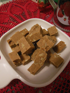Easy Penuche Fudge, a delicious brown sugar fudge