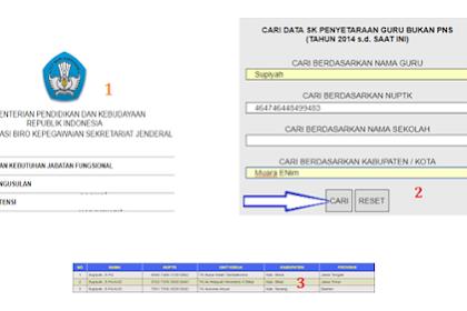 Cara Cek SK Inpassing, SK Penyetaraan, Klarifikasi PAK dan Usulan Jabatan Fungsional