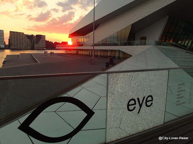 Amsterdam - Eye museum