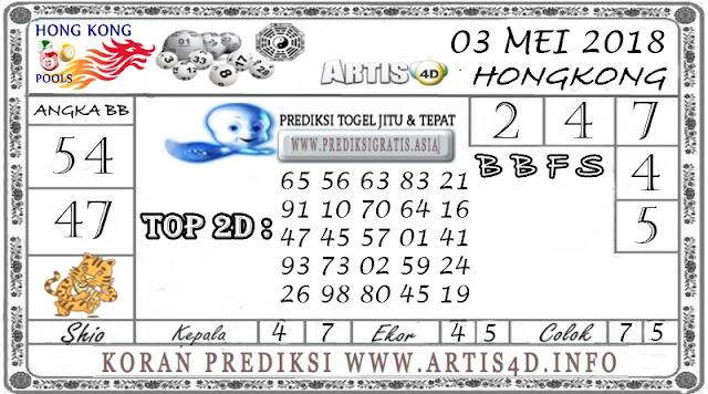PREDIKSI TOGEL HONGKONG 3 MEI  2018