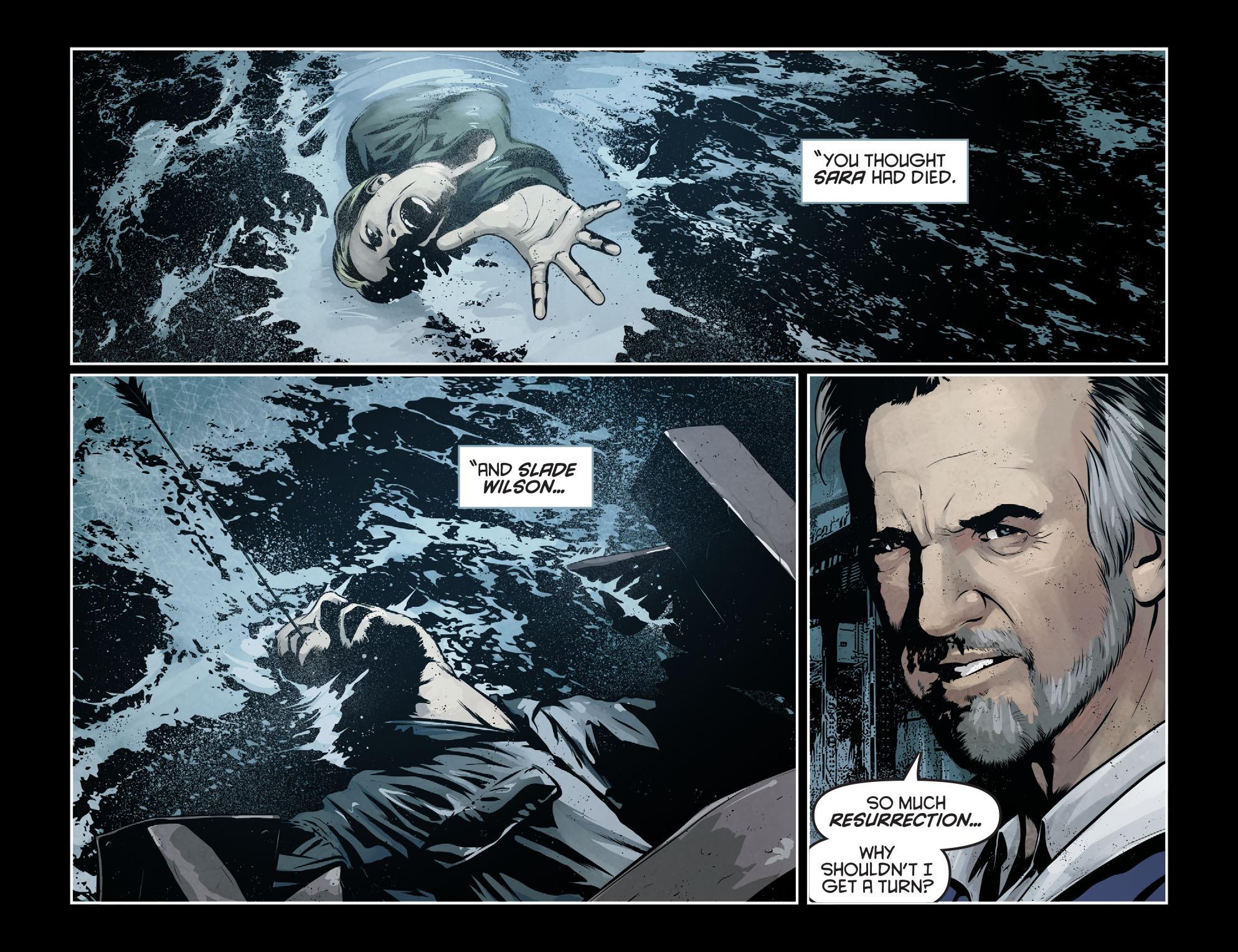 Read online Arrow: Season 2.5 [I] comic -  Issue #7 - 10