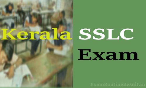 kerala sslc time table 2018 kerala pareeksha bhavan sslc exam date