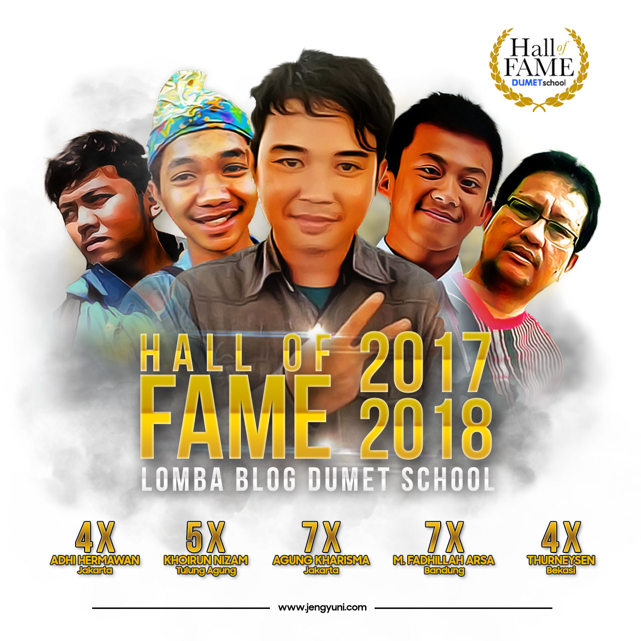 Hall of fame Dumet School