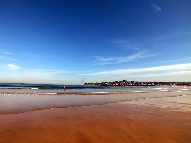 playa en gijón