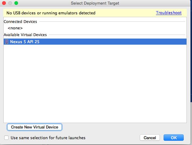 Nexus 5 API 25