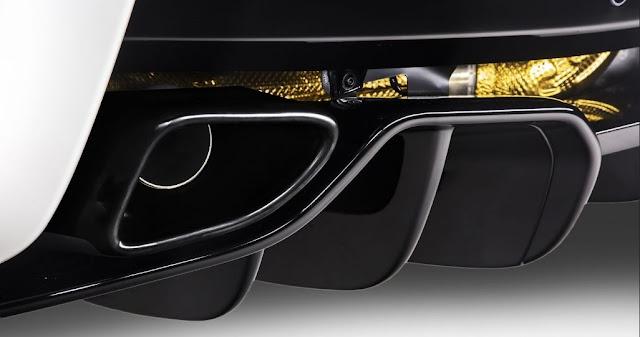 Nuevo sistema de escape con escudos térmicos para el McLaren 570GT MSO