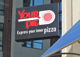 You Pie pizza restaurant logo (Houston Skyhouse location)