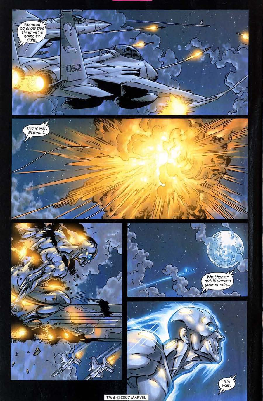 Read online Silver Surfer (2003) comic -  Issue #10 - 22