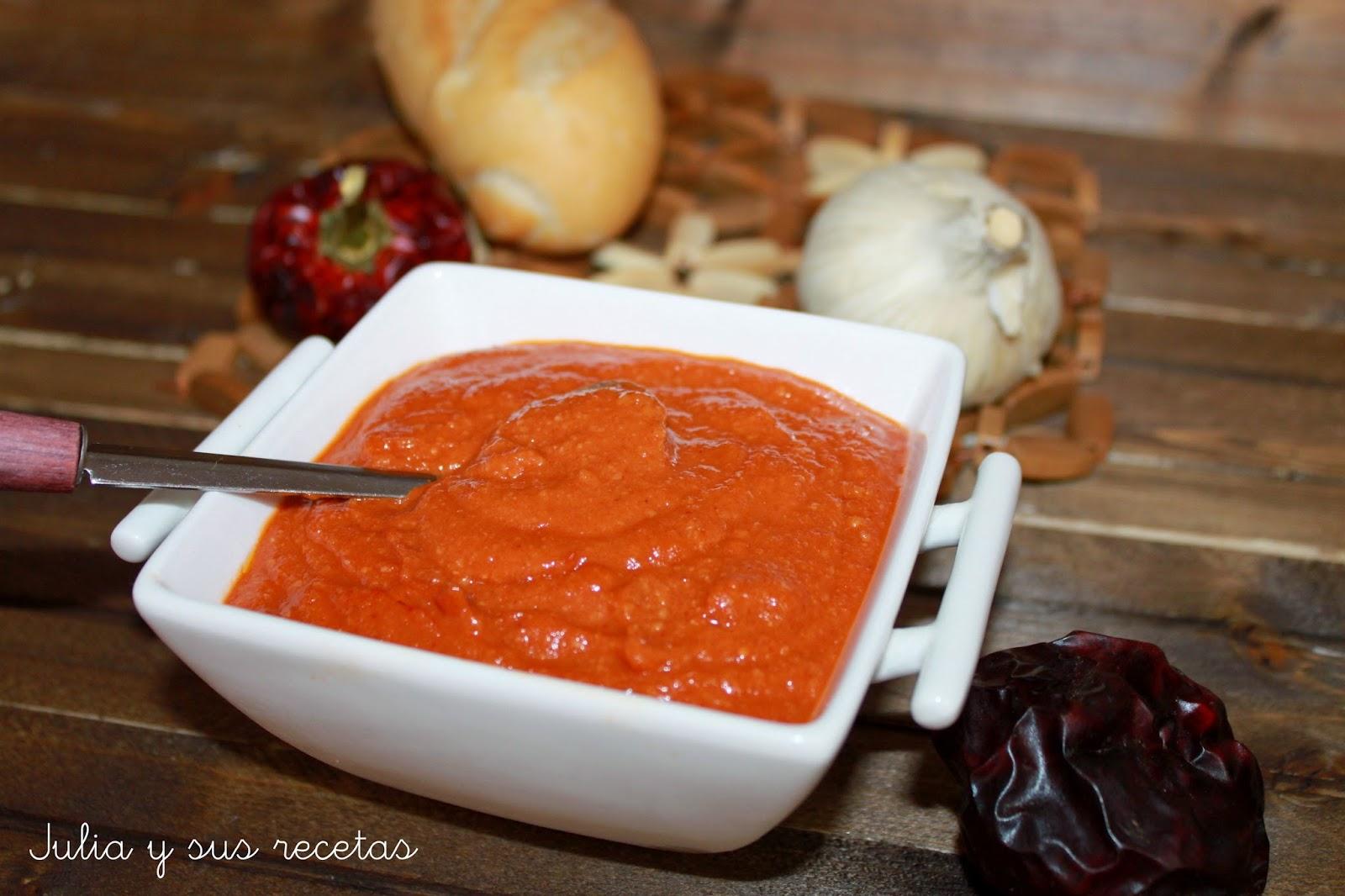 Salsa romesco. Julia y sus recetas
