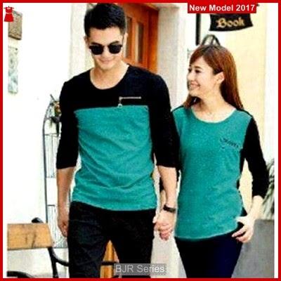 BJR164 E Baju Couple Zipper Murah Grosir BMG
