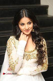 Telugu Actress Mahima Makwana Stills in White Desginer Dress at Venkatapuram Movie Logo Launch  0122.JPG