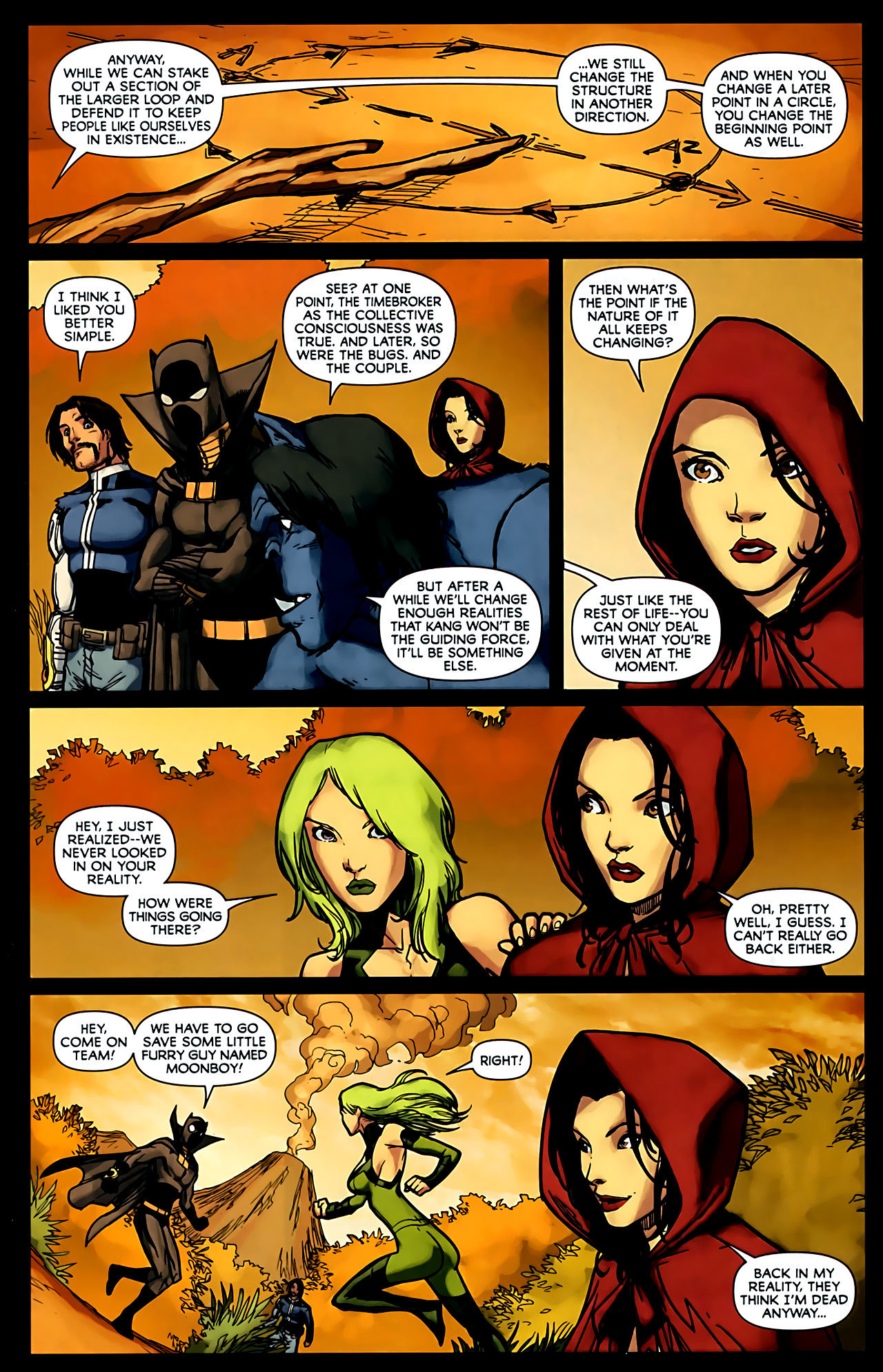 Read online Exiles (2009) comic -  Issue #6 - 40