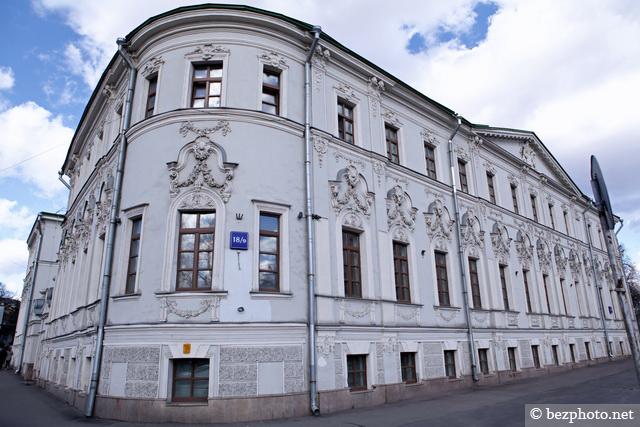 старая архитектура москвы
