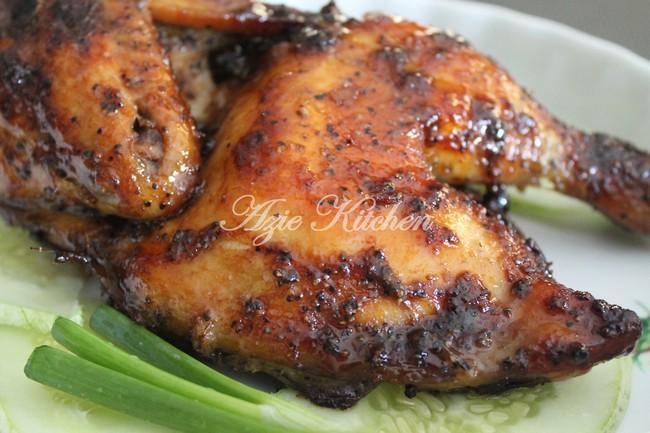 Ayam Panggang Blackpepper Azie Kitchen