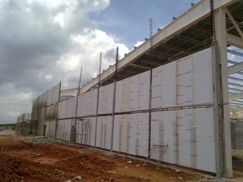 Tường bao panel 3d beton