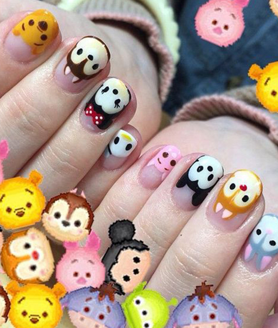 12 Emoji Nail Art Ideas