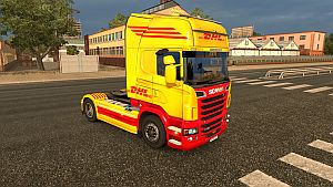 DHL skin for Scania R by EviL