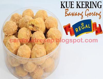 Foto Resep Kue Kering Isi Bawang Merah Goreng Tabur Biscuit Marie Regal Sederhana Spesial Asli Enak