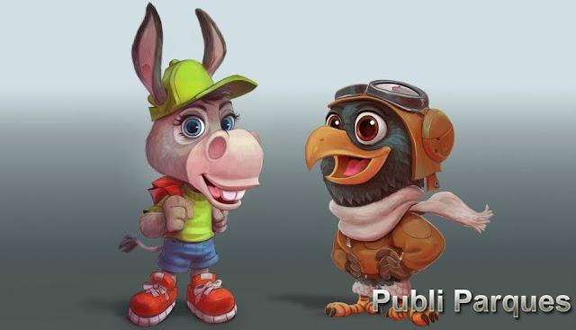 Mascotas Palmira y Piko